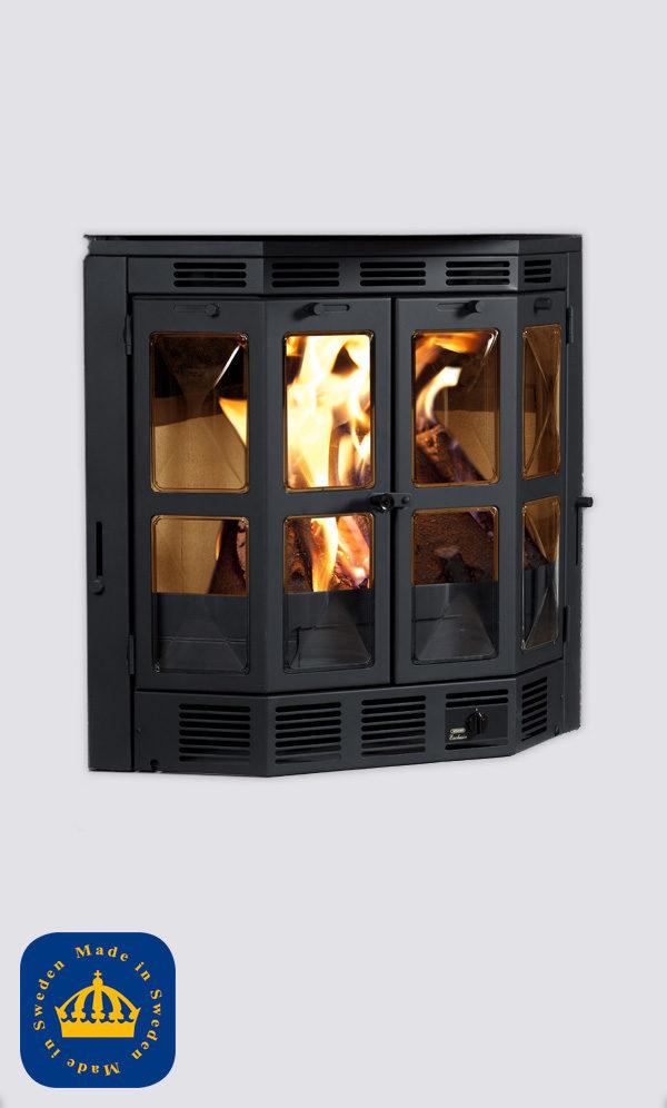 Wärmo exklusiv hög med kupade glas