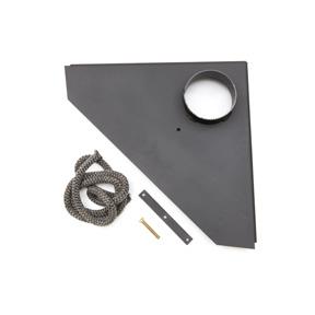 Lock för anslutning till rökrör Ø 150 mm, exklusiv modell